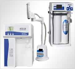 Water purification systems, ACCU20, ACCU100, ACCU500