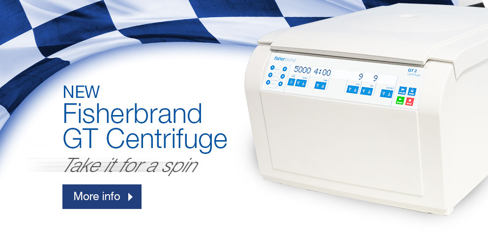 New Fisherbrand GT Centrifuge