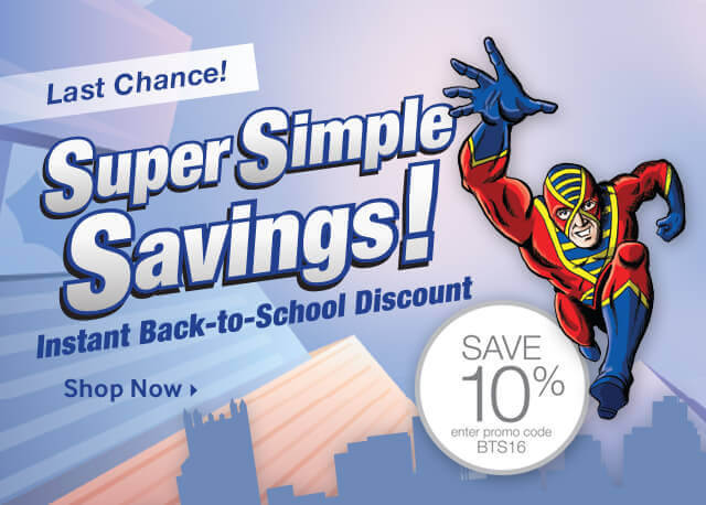 Instant Back-to-School Discount