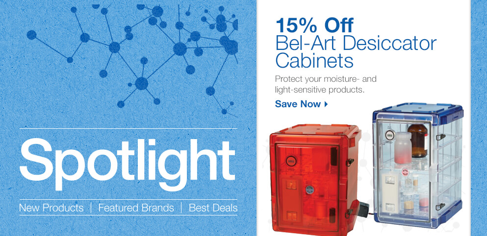 Save on Bel-Art Desiccator Cabinets