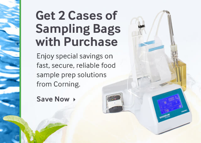 Get 2 Complimentary Cases of Corning Bags