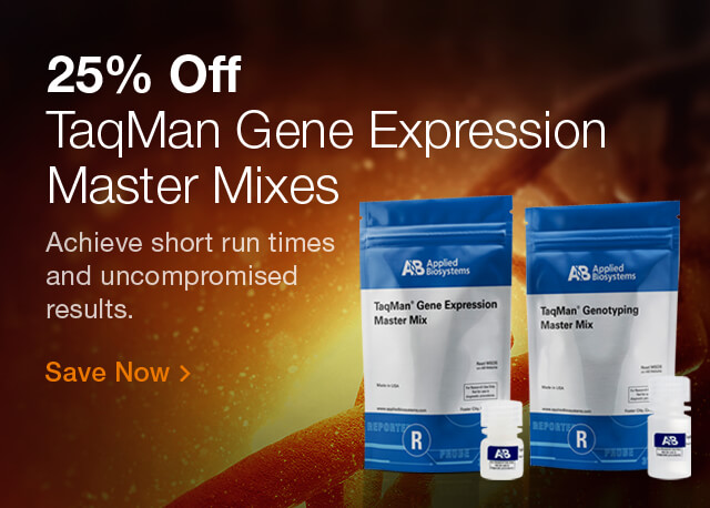 25% Off Master Mixes