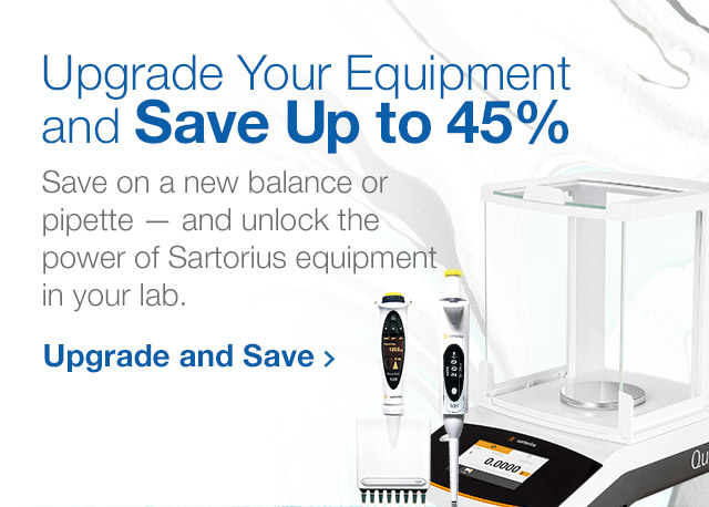 Up to 45% Off Sartorius Products