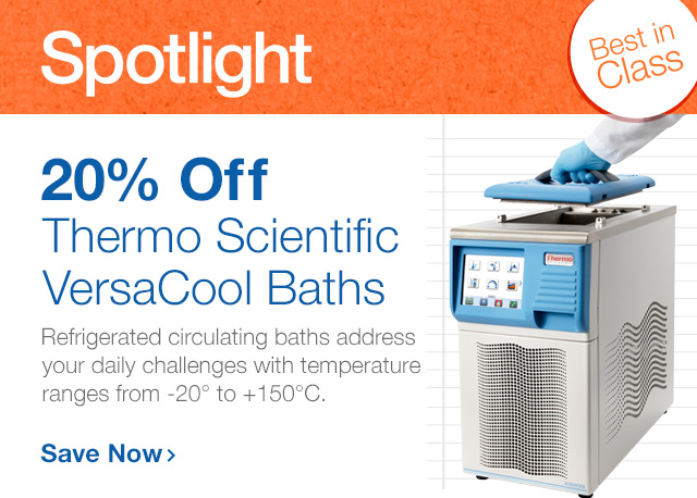 Save 20% on a VersaCool Bath