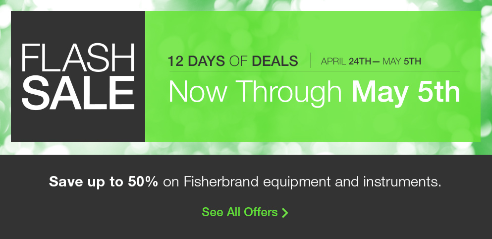Flash Sale: Up to 50% Off Fisherbrand