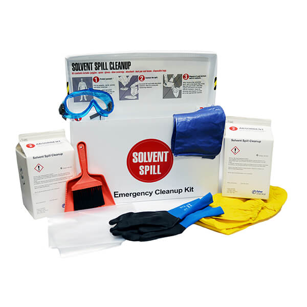 Get a Spill Cleanup Kit with Solvent Purchase