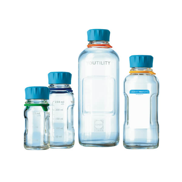 DWK Life Sciences™ DURAN™ YOUTILITY™ GL45 Laboratory Bottles