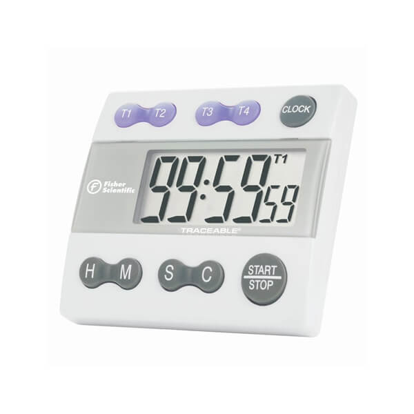 Get a Timer with Fisherbrand Atomic Clock Purchase