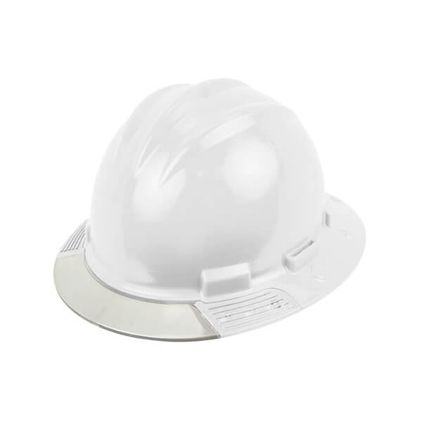 Bullard™ AboveView™ Hard Hat with Replaceable Clear-Brim Visor