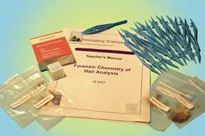 Innovating Science&trade; Forensic Chemistry of Hair Analysis Kit&nbsp;<img src=