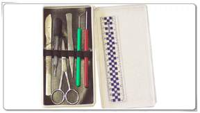 DR Instruments Dissecting Kit With Screw-lock-blade&nbsp;<img src=