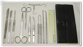 DR Instruments Anatomy Dissecting Kit&nbsp;<img src=
