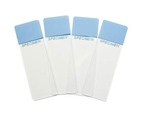 Fisherbrand&trade;&nbsp;ColorFrost&trade; Microscope Slides with Clipped Corners&nbsp;<img src=