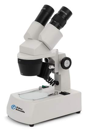 Fisher Scientific™ 450 Series Dual Magnification Stereoscopic Microscopes