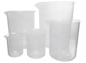GSC International&nbsp;Euro Style Polypropylene Beakers&nbsp;<img src=