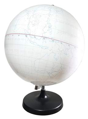 GSC Write-On Dry Erase Globe