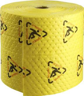 Brady™ BRIGHTSORB™ High Visibility Chemical Absorbent Roll
