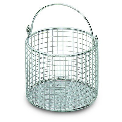 Bochem™ Round Stainless Steel Wire Baskets with Handle Dia.: 300mm; Height: 200mm Bochem™ Round Stainless Steel Wire Baskets with Handle