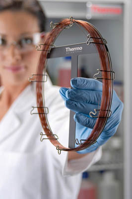 Thermo Scientific™ TraceGOLD™ TG-624 and TG-624SilMS GC Columns 1.4μm film thickness; 0.25mm ID; 30m length Thermo Scientific™ TraceGOLD™ TG-624 and TG-624SilMS GC Columns