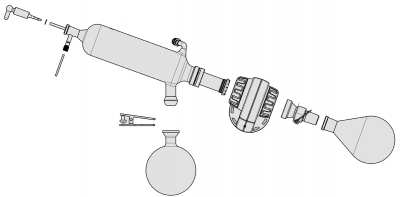 BUCHIJoint Adapter 29.2/32 with Combi-Clip for Rotavapor™ R-200/205 Joint adapter 29/32 Evaporator Accessories