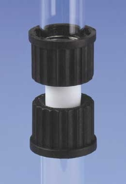 Bohlender™PPS Threaded Screw Couplings With GL Thread and PTFE/FPM Gasket Thread Size: GL 25 Bohlender™PPS Threaded Screw Couplings With GL Thread and PTFE/FPM Gasket