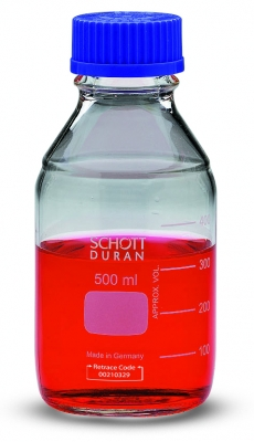 Duran™Clear Glass Laboratory Bottle with Screw Cap Capacity: 5000mL Duran™Clear Glass Laboratory Bottle with Screw Cap