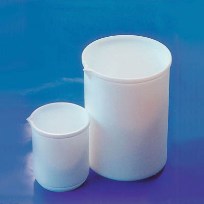 Fisherbrand™ PTFE Beaker with Spout Capacity: 1000mL Fisherbrand™ PTFE Beaker with Spout
