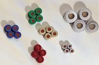 JG Finneran Associates™Crimp Caps Closure Color: Silver; Size: 20mm; Material: Silicone JG Finneran Associates™Crimp Caps