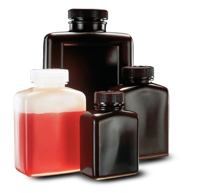 Thermo Scientific™ Nalgene™ Rectangular HDPE Bottles with Closure Capacity: 4 oz. (125mL) Thermo Scientific™ Nalgene™ Rectangular HDPE Bottles with Closure