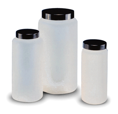 Kartell™Cylindrical Jars with Ribbed Cap Capacity: 500mL Products