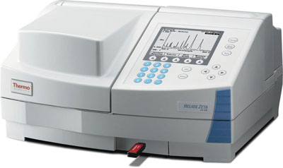 thermo scientific spectrophotometer helios zeta products rh fishersci co uk