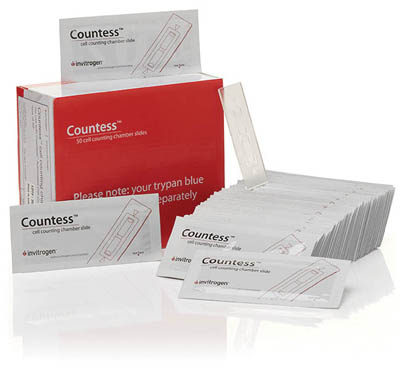 Invitrogen™Countess™ Cell Counting Chamber Slides Menge: 2500Objektträger Invitrogen™Countess™ Cell Counting Chamber Slides