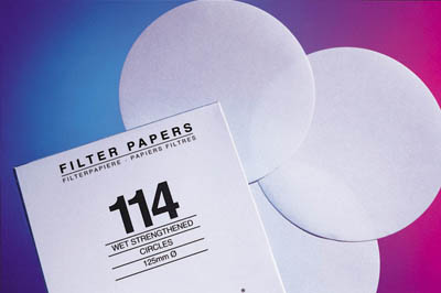 Cytiva (Formerly GE Healthcare Life Sciences) Whatman™ Grade 91 Wet Strengthened Qualitative Filter Papers - Circles Grade 91; Circles; Diameter: 165mm Cytiva (Formerly GE Healthcare Life Sciences) Whatman™ Grade 91 Wet Strengthened Qualitative Filter Papers - Circles