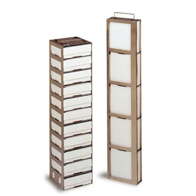 Thermo Scientific™Gradillas y soportes serie CryoPlus™ Square Rack, Liquid Phase; 2mL includes 12 cardboard boxes with a 100 cell divider Thermo Scientific™Gradillas y soportes serie CryoPlus™