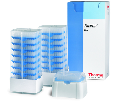Thermo Scientific™ Finntip™ Universal Pipette Tips Finntip™ Pipette Tips; Volume: 0.5 to 250μL; Color code: Yellow; Sterility: Sterile; Packaging: Hinged Racks; Unit Size: 10 × Racks of 96 tips (960 tips in total) Thermo Scientific™ Finntip™ Universal Pipette Tips