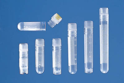 BRAND™ Cryogenic Tube with Screw Cap Capacity: 1.2 mL; Flat Bottom BRAND™ Cryogenic Tube with Screw Cap