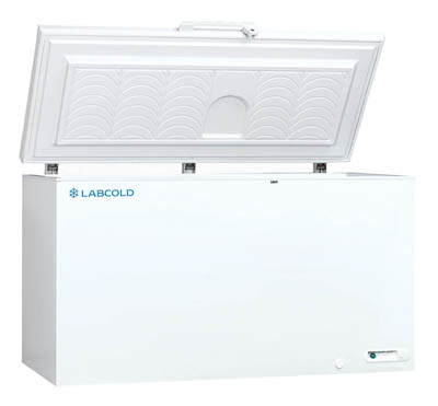 Labcold™ Sparkfree Freezers Capacity: 447L; Shelves: 2 baskets; Temp.: -18° to -25°C; Style: Chest Labcold™ Sparkfree Freezers