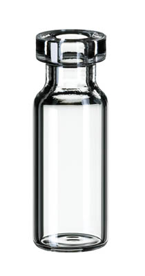 Fisherbrand™11mm Crimp Neck Vial, Clear Glass flat bottom,32mm height Fisherbrand™11mm Crimp Neck Vial, Clear Glass