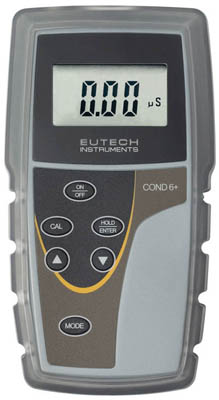 Thermo Scientific™ Eutech COND 6+ Handheld Meter Kit with Electrode  Portable Conductivity Meters