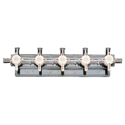 Masterflex™ Polycarbonate Manifolds Rotation: 180deg.; No. of Positions: 2 Masterflex™ Polycarbonate Manifolds