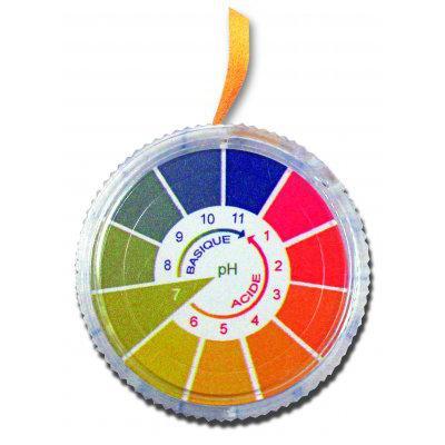 Fisherbrand™Universal-pH-Indikatorpapier der Sorte911 pH-Bereich: 0 bis 10; Rolle; Abmessungen (L x B): 5m x 10mm Fisherbrand™Universal-pH-Indikatorpapier der Sorte911