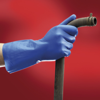 Ansell Edmont™ Virtex™ 79-700 Series Blue Nitrile Immersion Gloves Size: 9 Products