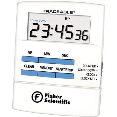 Fisherbrand™ Traceable™ Talking Countdown Timer Accuracy