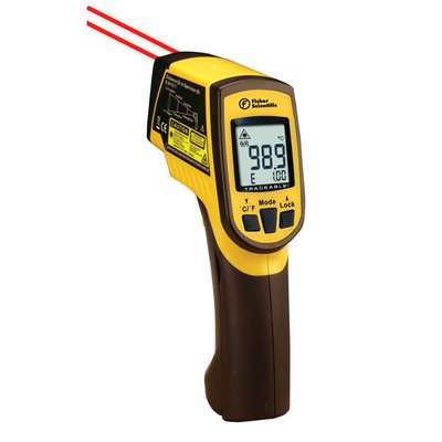 fisherbrand traceable infrarot thermometer mit zweipunkt laser mit typ k sonde with dual. Black Bedroom Furniture Sets. Home Design Ideas