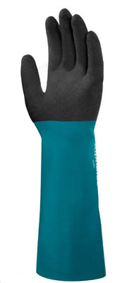 Ansell™AlphaTec™ 58-535B Series Nitrile Immersion Gloves 14 in. (35.5cm) long; Size: 10 Products