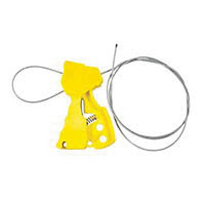 Brady™ Glass-filled Nylon Original Cable Lockout Yellow Brady™ Glass-filled Nylon Original Cable Lockout
