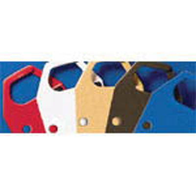 Brady™Blank Safety Lockout Hasps Color: Red Brady™Blank Safety Lockout Hasps