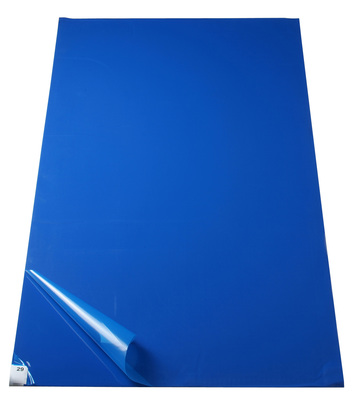 Fisherbrand™Adhesive Entryway Mats 24 x 45 in.; blue Fisherbrand™Adhesive Entryway Mats