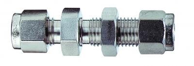 Cole-Parmer™Bulkhead Union Compression Fitting 1/8 in. Cole-Parmer™Bulkhead Union Compression Fitting