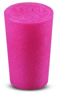 Cole-Parmer™ Solid Color-Coded Silicone Stoppers Standard Size 2, Pink Products